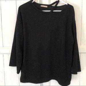 Zara Black Sweater Size Large